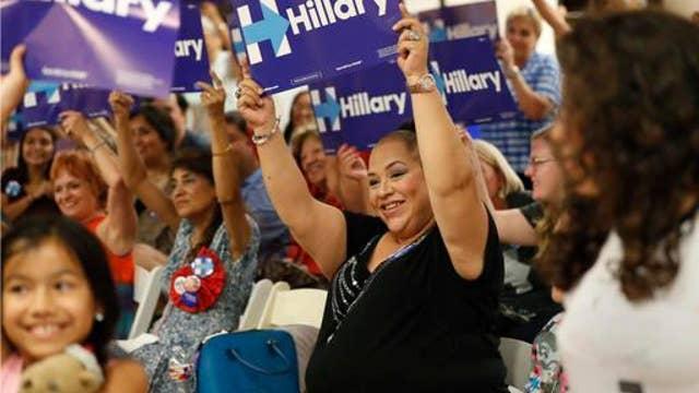 Clinton widens gap in polls