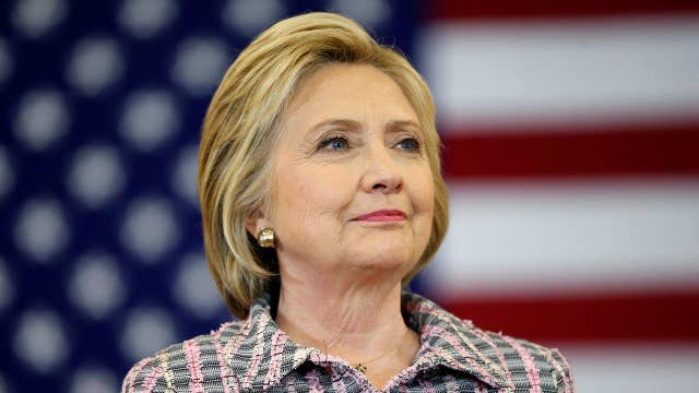 Clinton leads over Trump in three swing state polls