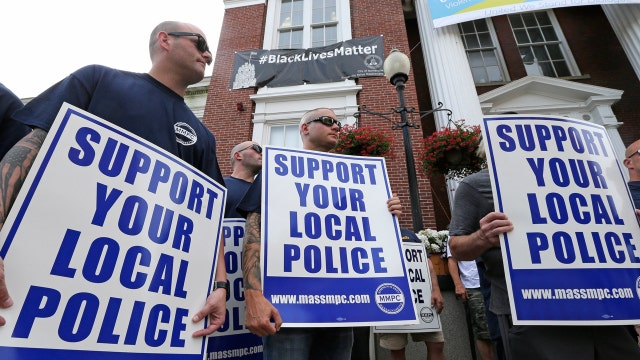 'Blue Lives Matter' law to protect police officers
