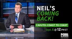 Neil Cavuto to return to FBN