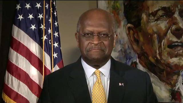 Herman Cain: American people will realize Clinton is a liar
