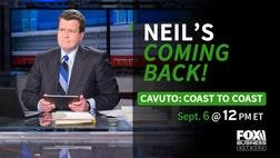 Cavuto: Coast to Coast host Neil Cavuto to return to the FOX Business Network on September , .