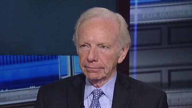 Lieberman: Not quite comfortable backing a candidate yet