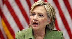 Why hasn't Clinton visited Louisiana?