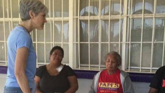Green Party' Jill Stein blames global warming for LA flooding