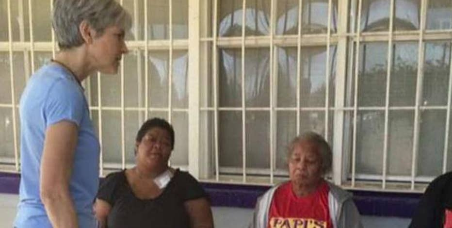 Jill Stein, 2016 Green Party presidential nominee, discusses global warming' role in Louisiana' flooding.