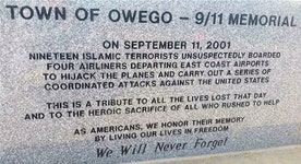 Controversy surrounding New York town's new 9/11 memorial