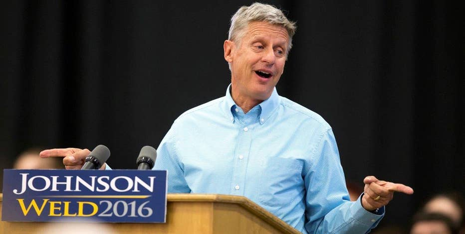 Libertarian presidential candidate Gary Johnson on the first presidential debate, the economy and efforts to get on the next debate stage.