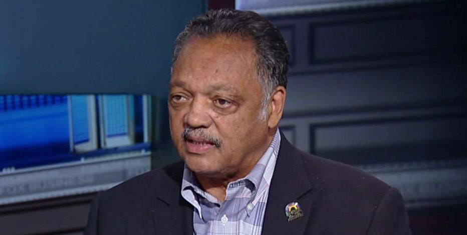 Rainbow Push Coalition Founder Rev. Jesse Jackson reacts to the unrest in Charlotte, North Carolina.