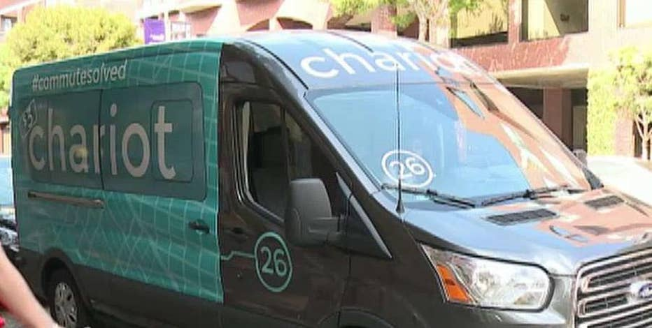 Ford CEO Mark Fields discusses his company's acquisition of Chariot, an Uber-like company for transit busses.