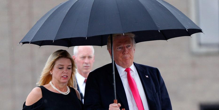 Florida Attorney General Pam Bondi responds to questions over Trump donation criticism.