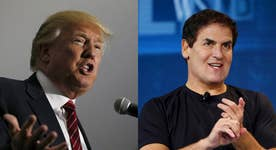 Mark Cuban going to the debate to try to rattle Trump?
