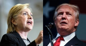Trump on the rise while Clinton declines?