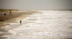 Tropical Storm Hermine churns North