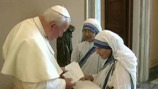 Sainthood for Mother Teresa
