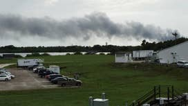 Explosion shakes SpaceX launch site during test