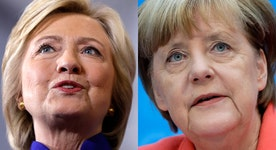 Nigel Farage: Clinton is blind to Merkel's migrant policy