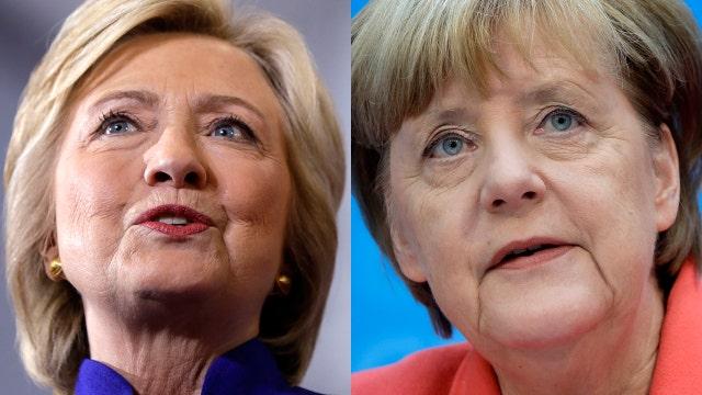 Nigel Farage: Clinton is blind to Merkel's migrant policy