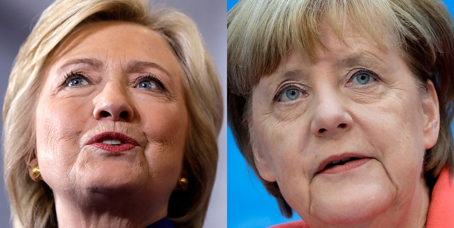 Former U.K. Independence Party leader Nigel Farage weighs in on Hillary Clinton's favorite world leader German Chancellor Angela Merkel and the internet oversight issue.