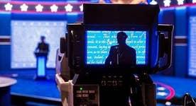 How did Trump prepare for the Hofstra debate?