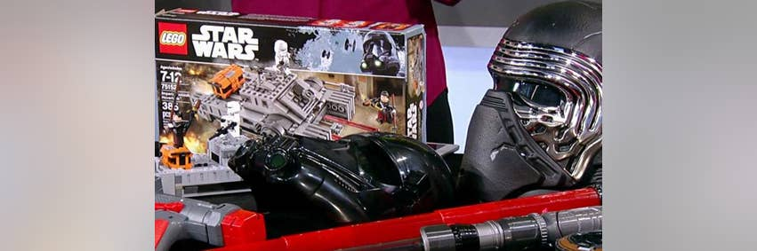 Rogue One Toys Hit Store Shelves