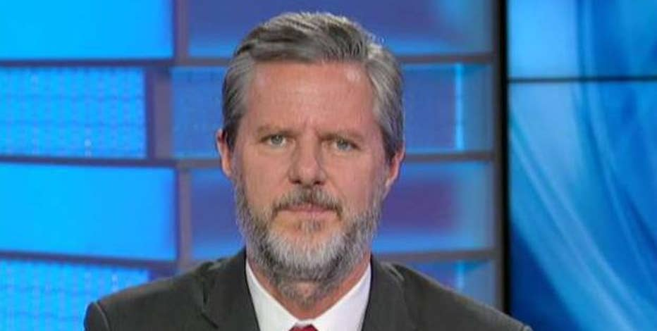 Liberty University President Jerry Falwell Jr. discusses why the Republican Party establishment may have been responsible for leaking Trump audio tapes.