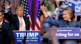Trump, Clinton fight for the battleground state of Florida