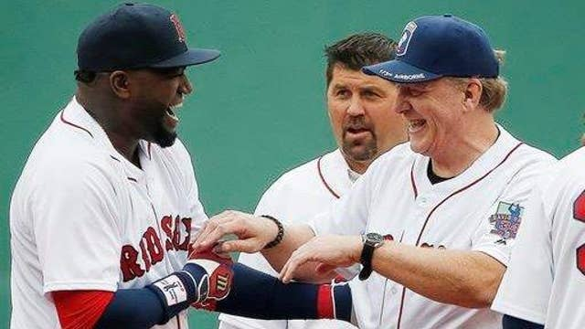 Curt Schilling on the Red Sox
