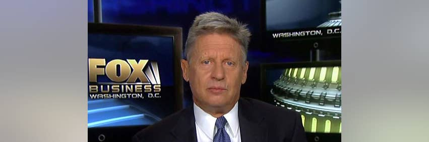 Gary Johnson: Young People Right Now Are Getting Screwed