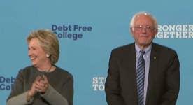 Are Sanders' worst suspicions about Clinton coming true?