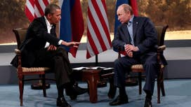 Obama acting cowardly towards Russia?