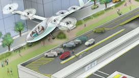 Uber's vision for self-driving flying cars