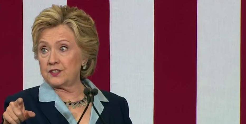 Democratic presidential nominee Hillary Clinton discusses how she will protect consumers if she becomes president.