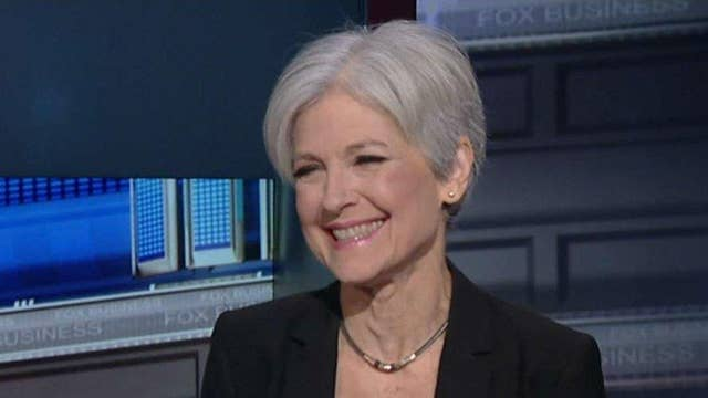 Green Party's Jill Stein: It's a race to the bottom