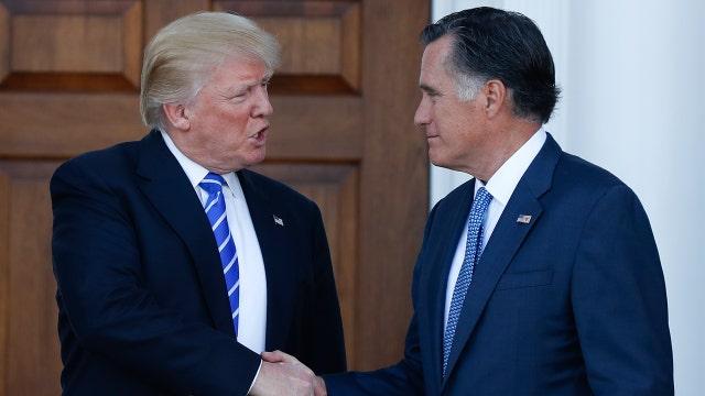 Fmr. Romney advisor on Trump, Romney meeting
