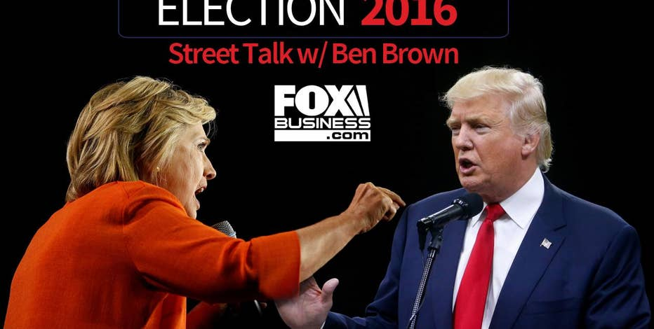 FOXBusiness.com took to the streets of New York City to see what voters had to say about this crazy election!