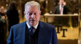 Gore-Trump meeting a publicity stunt?