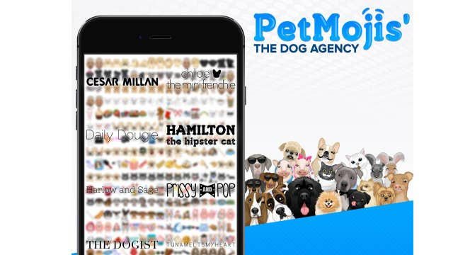 Branded marketing goes to the dogs with PetMojis' app