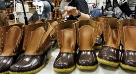 LL Bean's duck boots back in style