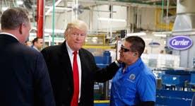 Carrier employee: Donald Trump saved my job