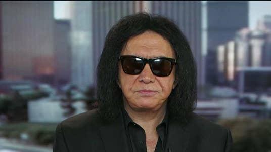 KISS front man Gene Simmons: Celebrities should shut their pie holes