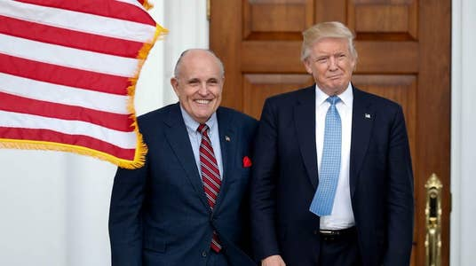 Giuliani Withdraws Consideration for Position in Trump Administration