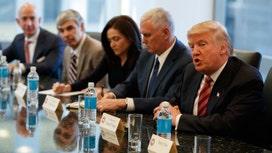 Tech titans meet with Trump