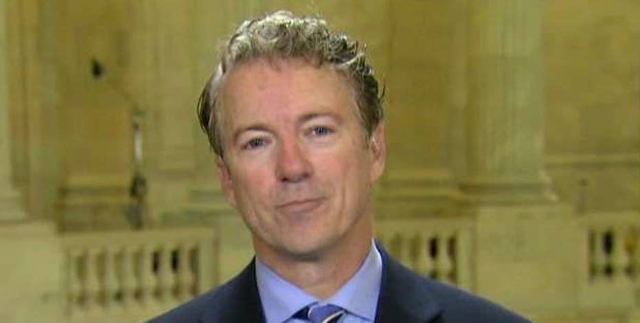 Sen. Rand Paul (R-KY) weighs in on the Senate Democrats' push to block the Obamacare repeal.