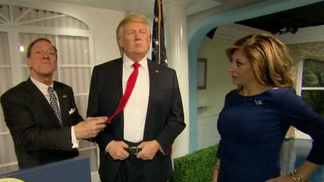 Madame Tussauds unveils new Trump sculpture