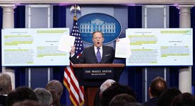 White House takes on media over reporting of executive orders