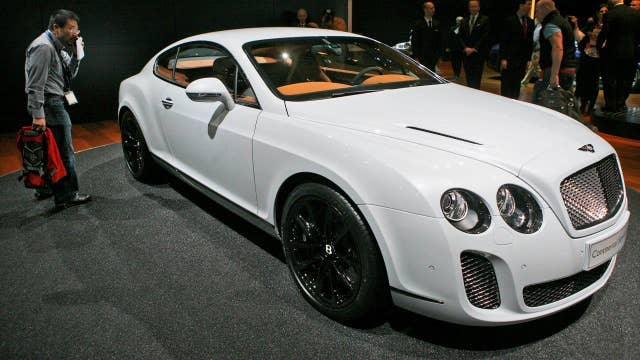 Bentley unveils fastest Continental Supersports ever