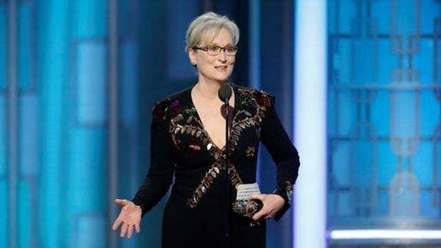 Tucker Carlson on Meryl Streep's Golden Globes rant