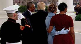 Amicable transfer: Tea time with the Trump's and Obama's