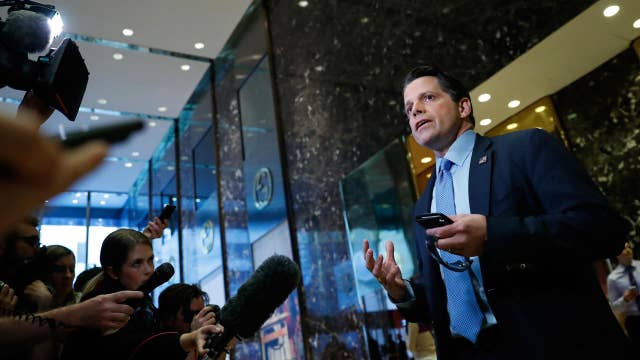 Gasparino: Scaramucci's appointment delayed amid internal warfare